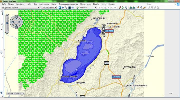 карты глубин для навигаторов garmin для рыбалки